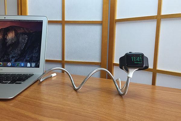 切れないアップルウォッチ充電スタンドのボビンウォッチの画像3