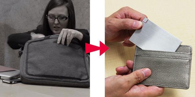 薄型スマホバッテリーのライフカードの画像11