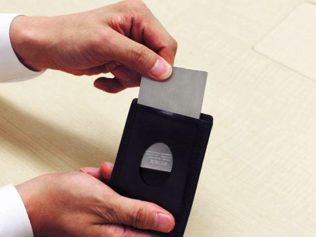 薄型スマホバッテリーのライフカードの画像13