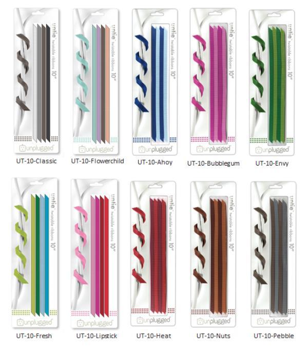 リボン型のケーブルオーガナイザー ロングタイプ「UNTIE 10」全10種類