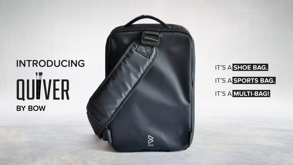 ガジェットの通勤、通学、ジムにスポーツに!アクティブユーザーに最適化された<br>多機能バッグ「Quiver(クイヴァー)」