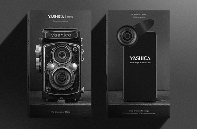 ガジェットの【新商品】本日初日!名門カメラメーカーYASHICA復活!スマホ用の本格カメラレンズ「YASHICA LENS(ヤシカレンズ)」 #新製品 #スマホ #カメラレンズ #クラウドファンディング #makuake #jpt