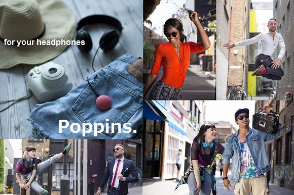 ガジェットの【新商品】本日公開しました!ワイヤレスでお気に入りの音楽をシェアできるポップなBluetoothレシーバー「Poppoins(ポピンズ)」 #新製品 #音楽 #イヤホン #Bluetooth #ペアリング #シェア #GreenFunding #jpt