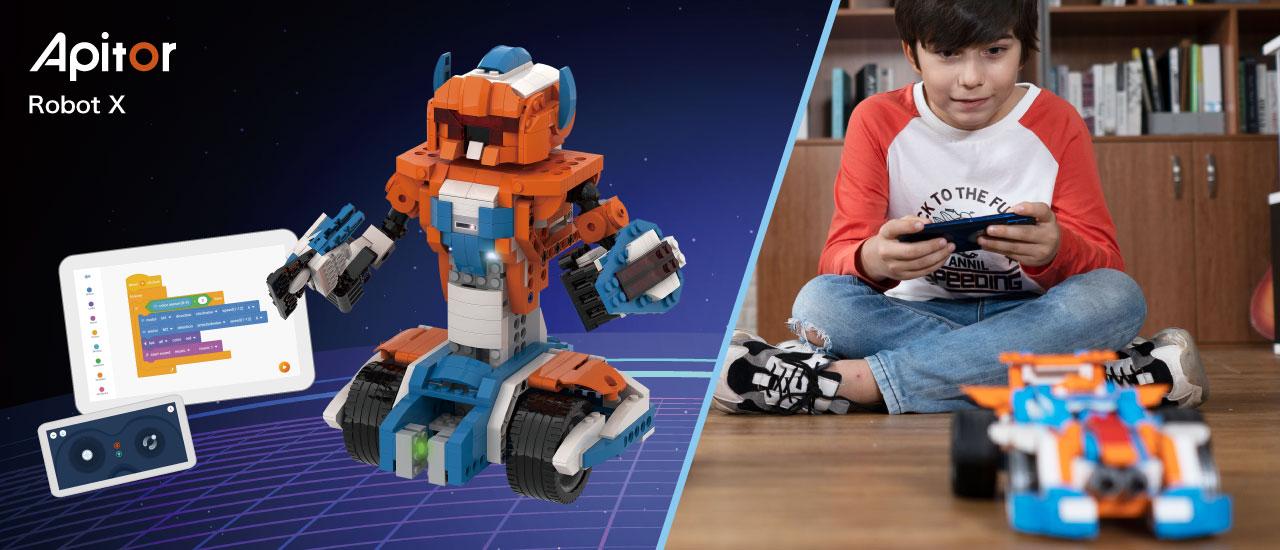 プログラミンを学べるロボットのアピター画像1