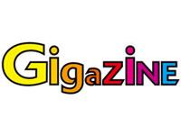 WEBメディアのギガジン