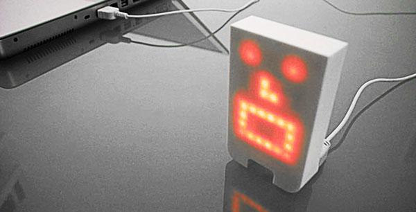 音に反応するロボットTENGU