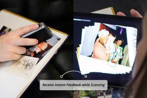 古い写真も簡単にデジタル化できるポータブルスキャナー