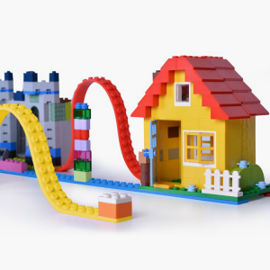 レゴなどブロックがくっつくテープbumpy