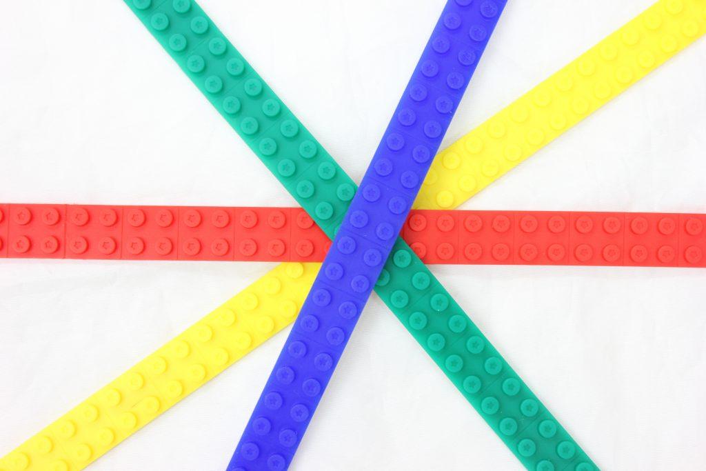 LEGOがくっつくデコボコテープbunpy