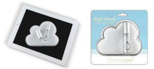 雲の形のスクリーンクリーニングキット「DUST CLOUD」